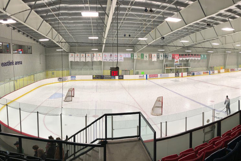 The East Elgin Community Complex In Aylmer, Ontario Selects Book King