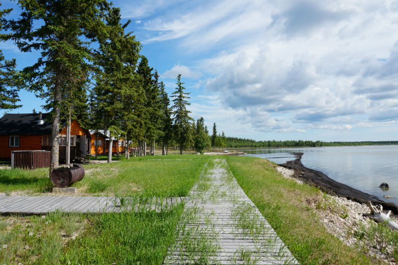 The Hamlet Of Fort Resolution, Northwest Territories, Selects Book King